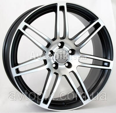 Литые диски WSP Italy Audi (W557) S8 Cosma Two R18 W8 PCD5x112 ET45 DIA57.1 (black polished)