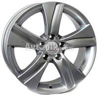 Литые диски WSP Italy Mercedes (W765) Erida R17 W8.5 PCD5x112 ET38 DIA66.6 (silver)
