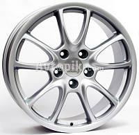 Литые диски WSP Italy Porsche (W1052) Corsair R19 W11 PCD5x130 ET45 DIA71.6 (silver), фото 1