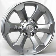 Литые диски WSP Italy Toyota (W1764) Scario R18 W7.5 PCD6x139.7 ET25 DIA106.1 (silver)
