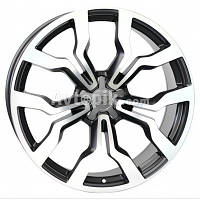Литые диски WSP Italy Audi (W565) Medea R19 W8.5 PCD5x112 ET32 DIA66.6 (black polished)