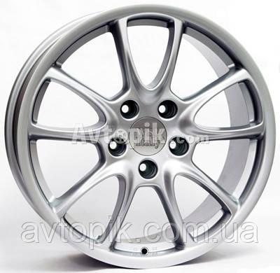 Литые диски WSP Italy Porsche (W1052) Corsair R19 W8.5 PCD5x130 ET53 DIA71.6 (silver)