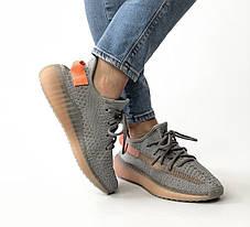 Женские кроссовки в стиле Adidas Yeezy Boost 350 V2 True Form (36, 37, 38, 39, 40 размеры), фото 3