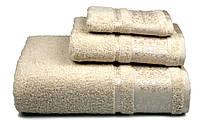 Полотенце махровое Бамбук, 500 гр/м2, 50х90, цвет: бежевый