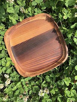 Дерев'яна тарілочка