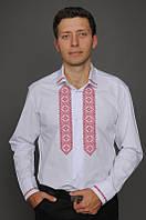 Классическая мужская вышиванка МК06-112, фото 1