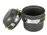 Набір туристичного посуду з антипригарним покриттям (казанок + чашка)