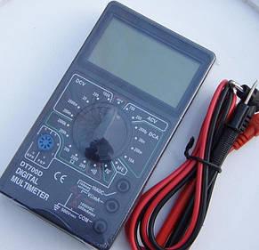 Цифровой мультиметр тестер DT 700D, фото 2