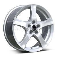 Литые диски Borbet F R17 W7 PCD5x112 ET35 DIA72.6 (серебро)