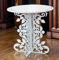 Кофейный столик  круглый Д60В60 №4