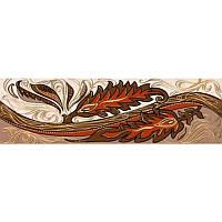 Плитка Golden Tile Александрия Фриз беж В11331 6*20