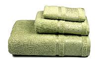 Полотенце махровое Бамбук, 500 гр/м2, 50х90, цвет: зеленый