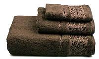 Полотенце махровое Бамбук, 500 гр/м2, 50х90, цвет: коричневый
