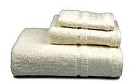 Полотенце махровое Бамбук, 500 гр/м2, 50х90, цвет: кремовый