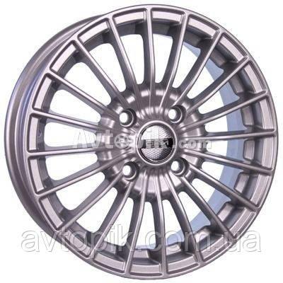 Литые диски Tech Line TL537 R15 W6 PCD5x112 ET45 DIA57.1 (silver)