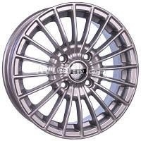 Литые диски Tech Line TL537 R15 W6 PCD5x112 ET45 DIA57.1 (silver), фото 1