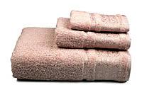 Полотенце махровое Бамбук, 500 гр/м2, 50х90, цвет: розовый