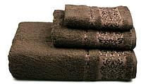 Полотенце махровое Бамбук, 500 гр/м2, 70х140, цвет: коричневый