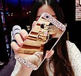 Чехол-накладка TPU Luxury Bear gold для Apple iPhone 6 / 6S, фото 2