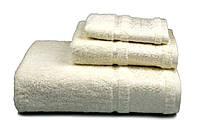 Полотенце махровое Бамбук, 500 гр/м2, 70х140, цвет: кремовый