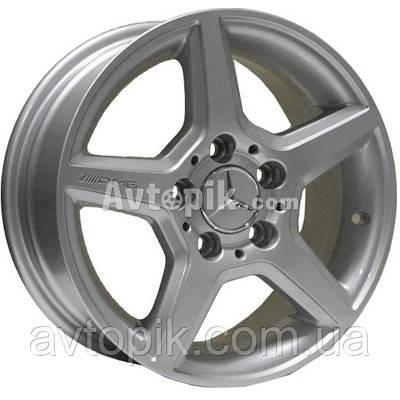 Литые диски TRW Z274 R15 W6.5 PCD5x112 ET43 DIA66.6 (silver)