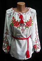 """Вышиванка женская на батисте """"Розария"""""""