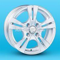 Литые диски JT 2805 R13 W5.5 PCD4x98 ET35 DIA58.6 (silver)