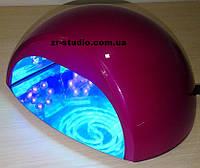 Лампа для наращивания ногтей LED+ CCFL (темно розовая)
