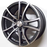 Литые диски Racing Wheels H-496 R14 W6 PCD4x100 ET38 DIA67.1 (DDN-F/P)