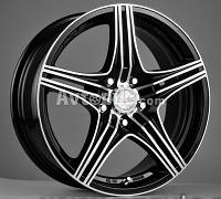 Литые диски Racing Wheels H-464 R15 W6.5 PCD5x112 ET35 DIA66.6 (BK-F/P)