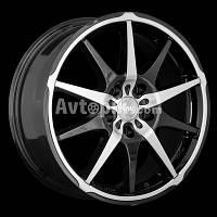 Литые диски Racing Wheels H-410 R16 W7 PCD5x100 ET40 DIA73.1 (BK-F/P)