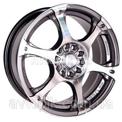 Литые диски Racing Wheels H-245 R16 W7 PCD5x108 ET40 DIA73.1 (GM/FP)