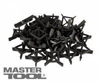 MasterTool  Крестики дистанционные многоразовые тип 1, 1,5 мм 30 шт, Арт.: 81-0615