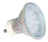 Лампа светодиодная LED20 GU10-GN, 220V, зелёная
