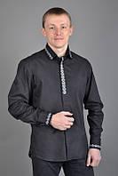 Классическая рубашка с вышивкой МК01-121