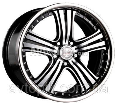 Литые диски Racing Wheels H-434 R20 W8.5 PCD5x112 ET45 DIA66.6 (BK-F/P)