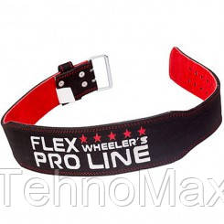 MEX Nutrition Пояс для атлетики POWER-L BELT FLEX (black)