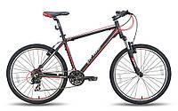 """Велосипед 26'' PRIDE XC-26 рама - 17"""" черно-красный матовый 2015"""