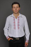 Рубашка с вышивкой классического кроя МК04-112, фото 1