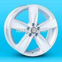 Литые диски Replica Volkswagen (A-014) R17 W7 PCD5x100 ET40 DIA57.1 (silver)