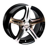 Литые диски Replica Mercedes (145) R15 W7 PCD5x112 ET35 DIA66.6 (BP)