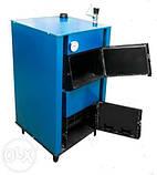 Твердотопливный котел Unimax КСТВ-24 Е с автоматикой, фото 5