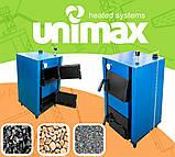 Твердотопливный котел Unimax КСТВ-24 Е с автоматикой, фото 7