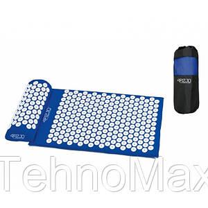 Коврик акупунктурный с валиком 4FIZJO Аппликатор Кузнецова 72 x 42 см 4FJ0023 Blue