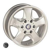 Литые диски Replica Volkswagen (Z491) R16 W7 PCD6x130 ET50 DIA84.1 (silver)