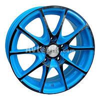 Литые диски RS Wheels 129J R15 W6.5 PCD5x114.3 ET38 DIA73.1 (AUB)