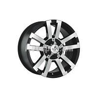 Литые диски Fondmetal 7700 R17 W8 PCD5x150 ET34 DIA110 (black polished)