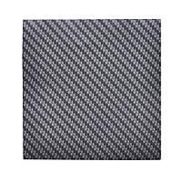 """Пленка карбон 3D CF серый """"графит"""" с микроканалами 100х152 см."""