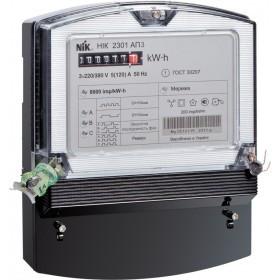 Лічильник НІК 2301 АП3 5(120)А, 3ф, електромеханічний однотарифний