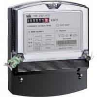 Лічильник НІК 2301 АТ1 5(10)А,100В 3ф, електромеханічний однотарифний